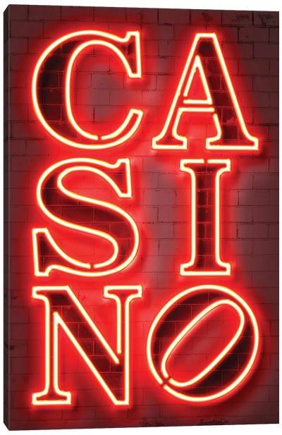 Casino Canvas Art Print