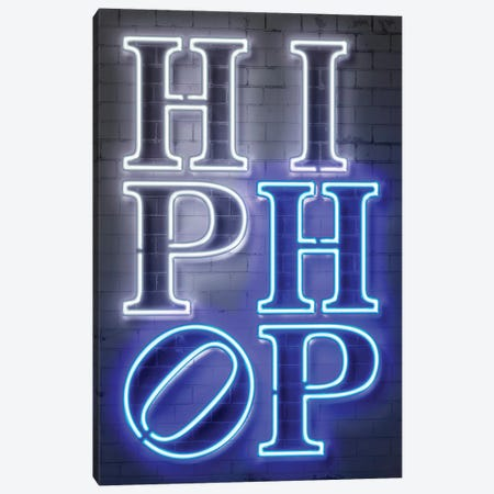 Hip Hop Canvas Print #OMU292} by Octavian Mielu Canvas Art Print
