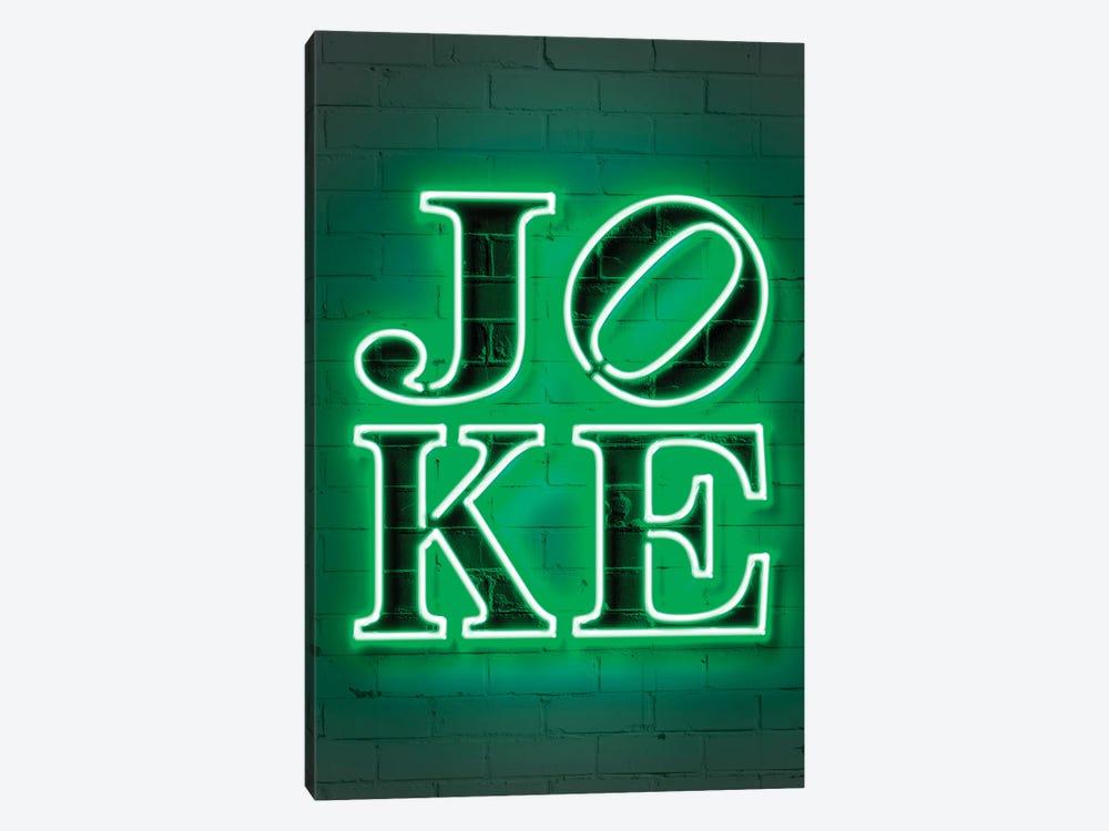 Joke Neon by Octavian Mielu 1-piece Canvas Art
