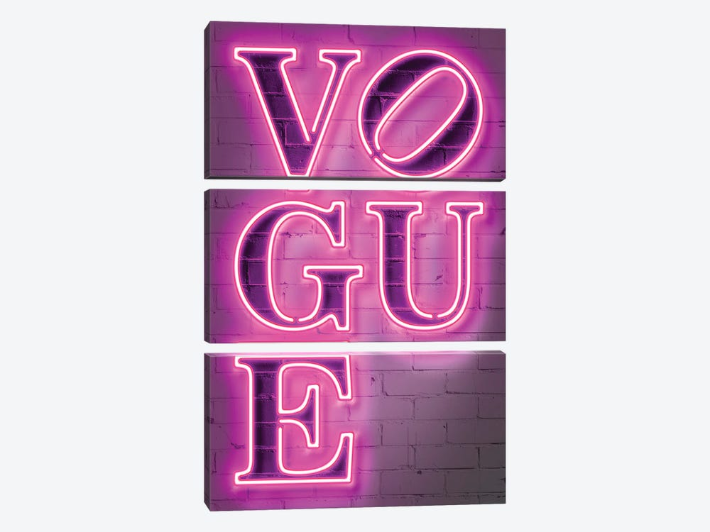 Vogue by Octavian Mielu 3-piece Canvas Art Print