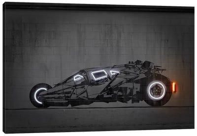 Batmobile Tumbler Canvas Art Print