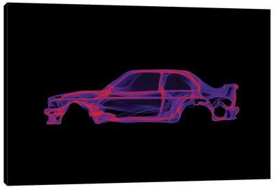 BMW E30 M3 Canvas Art Print