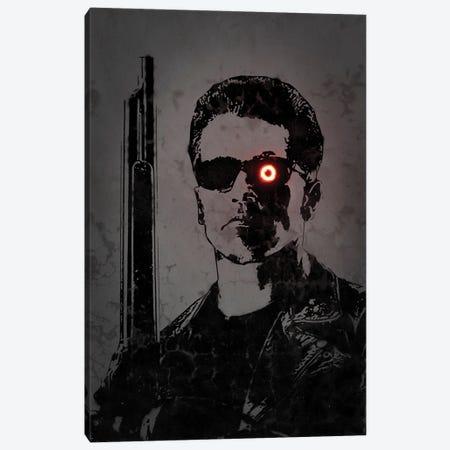 Terminator Canvas Print #OMU333} by Octavian Mielu Canvas Art