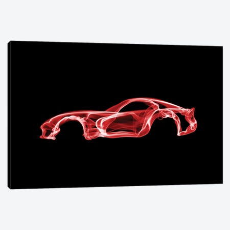 Dodge Viper Canvas Print #OMU34} by Octavian Mielu Canvas Artwork