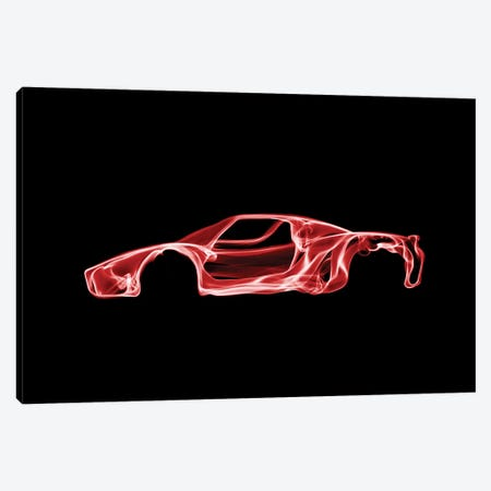Enzo Ferrari Canvas Print #OMU35} by Octavian Mielu Canvas Artwork