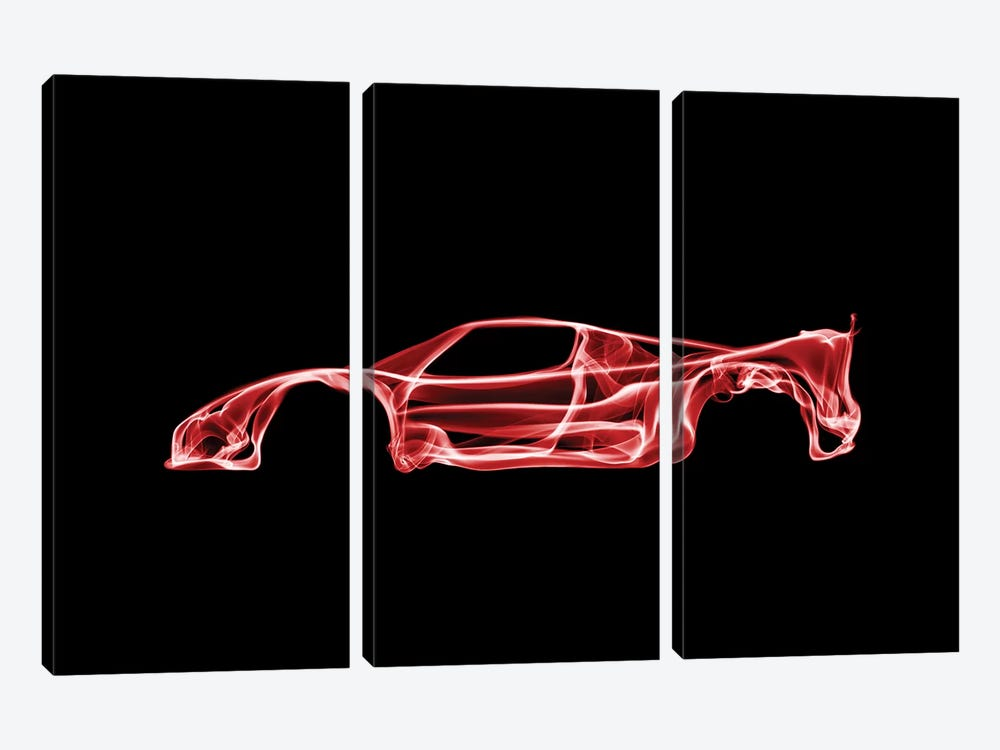 Ferrari F50 by Octavian Mielu 3-piece Canvas Print