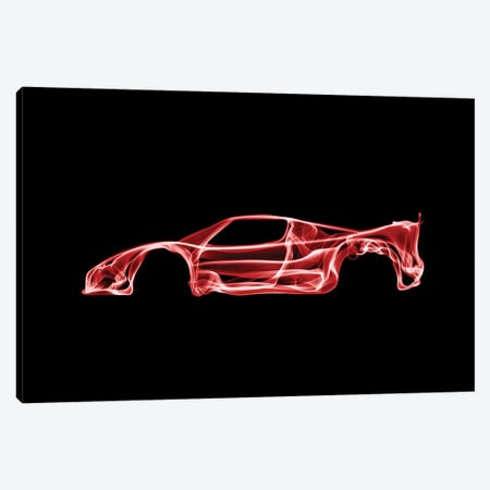 Ferrari F50 Canvas Print #OMU38} by Octavian Mielu Canvas Art Print