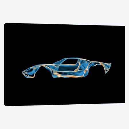 Ford GT40 Canvas Print #OMU39} by Octavian Mielu Art Print