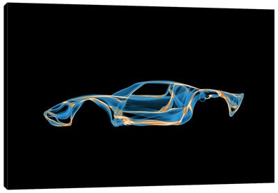 Ford GT40 Canvas Print #OMU39
