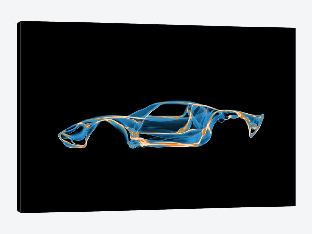 Ford GT40 1-piece Canvas Wall Art