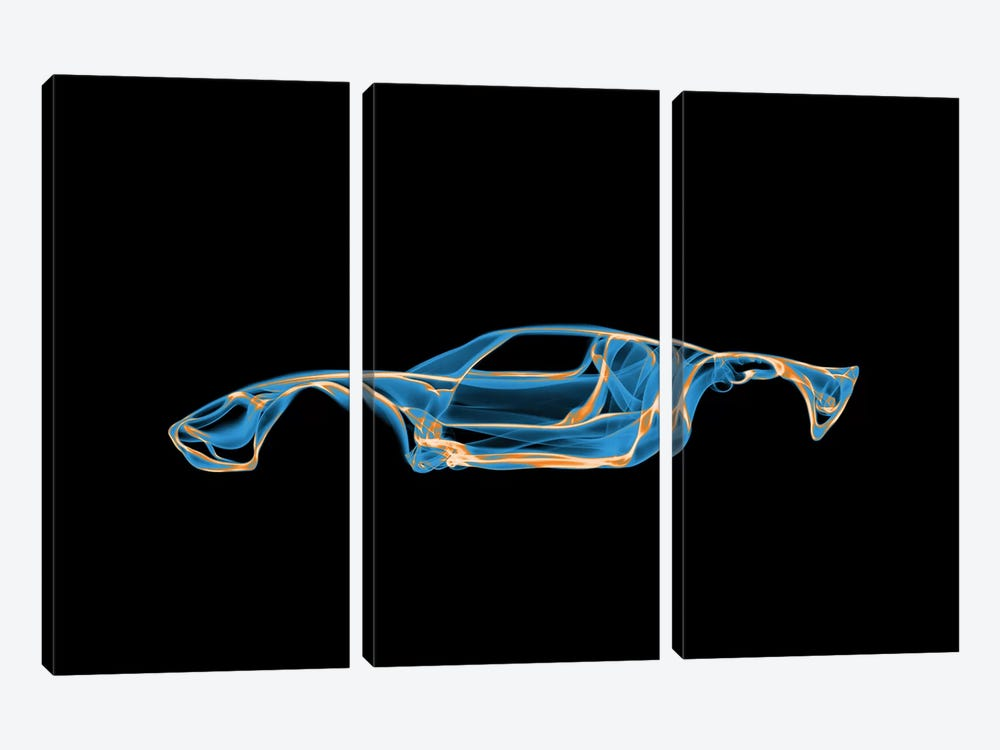 Ford GT40 3-piece Canvas Art