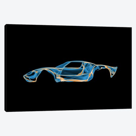 Ford GT40 3-Piece Canvas #OMU39} by Octavian Mielu Art Print