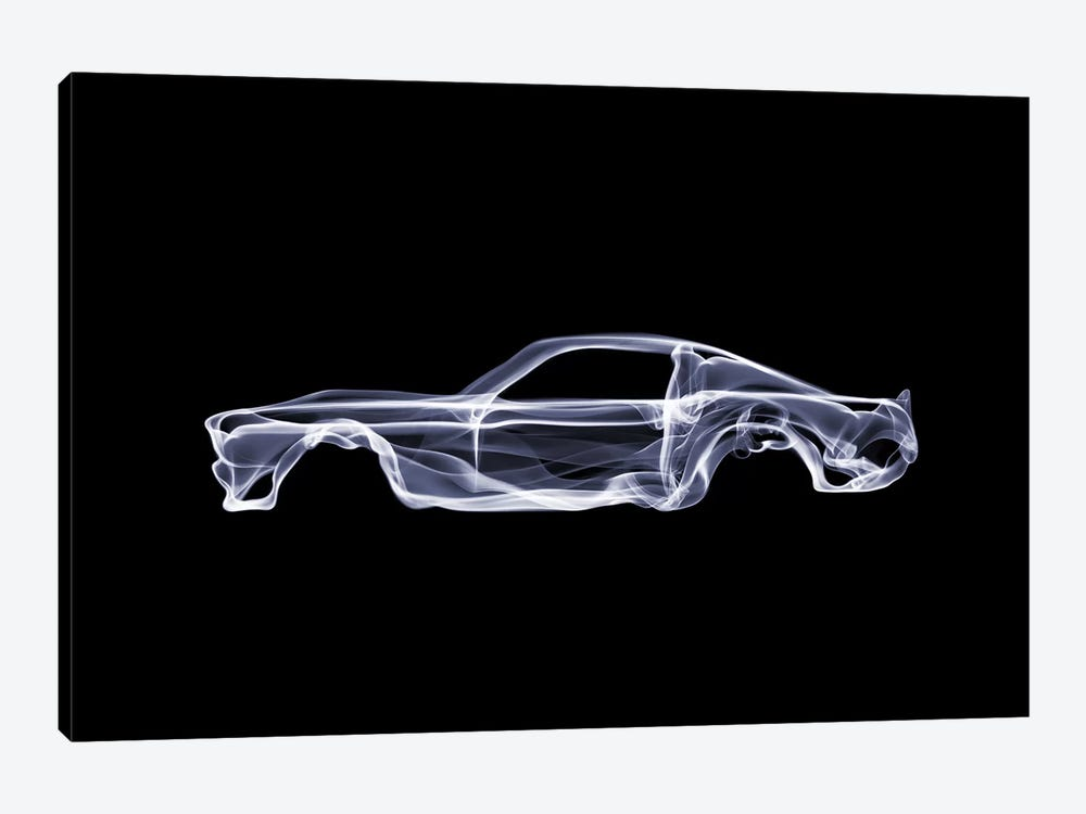 New Canvas Picture Canvas Mural Art Print Car Ford Mustang Classic Car Carriage