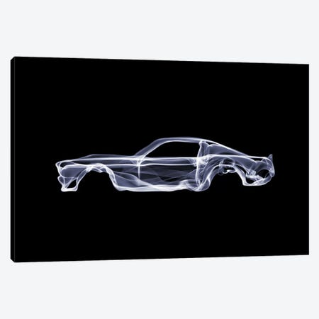 Ford Mustang Canvas Print #OMU40} by Octavian Mielu Canvas Artwork
