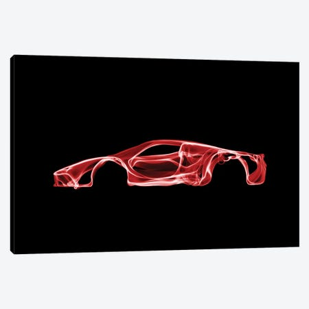 LaFerrari Canvas Print #OMU42} by Octavian Mielu Canvas Artwork