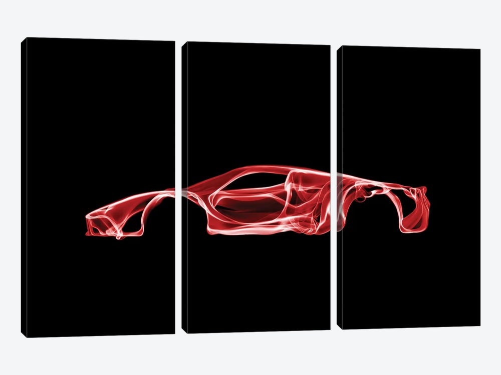 LaFerrari by Octavian Mielu 3-piece Canvas Artwork