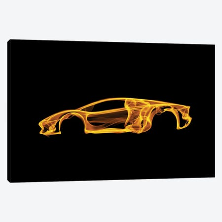 Lamborghini Aventador Canvas Print #OMU43} by Octavian Mielu Canvas Artwork
