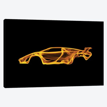 Lamborghini Countach Canvas Print #OMU44} by Octavian Mielu Canvas Art Print