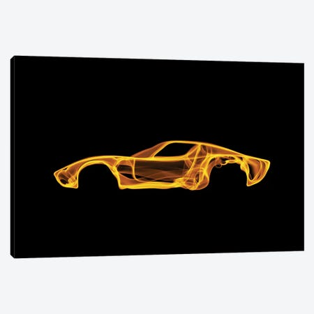Lamborghini Miura 3-Piece Canvas #OMU46} by Octavian Mielu Canvas Print