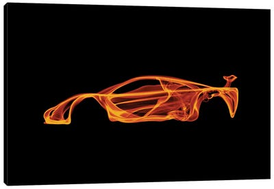 McLaren F1 Canvas Art Print