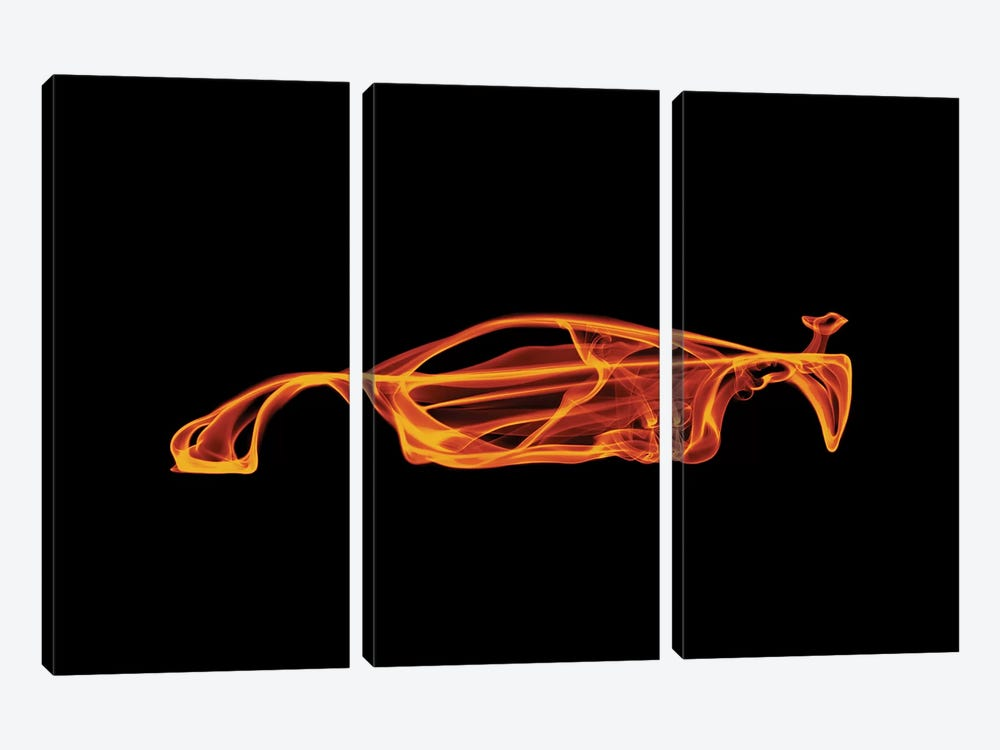 McLaren F1 by Octavian Mielu 3-piece Canvas Wall Art