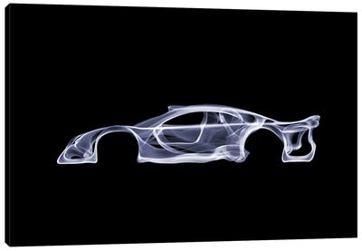 Mercedes-Benz CLK GTR Canvas Art Print