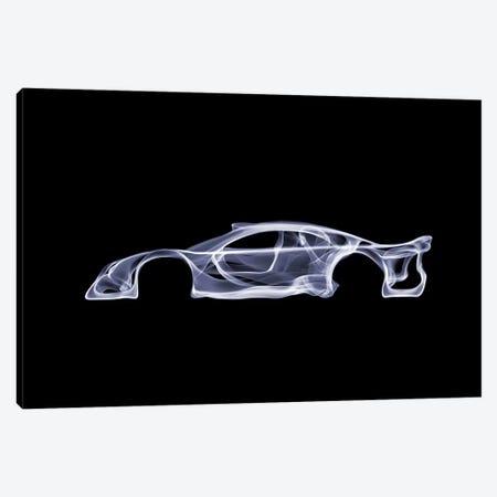 Mercedes-Benz CLK GTR 3-Piece Canvas #OMU51} by Octavian Mielu Art Print