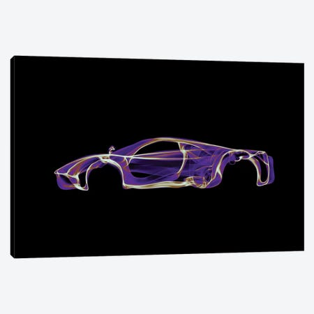 Pagani Huayra Canvas Print #OMU52} by Octavian Mielu Canvas Art Print