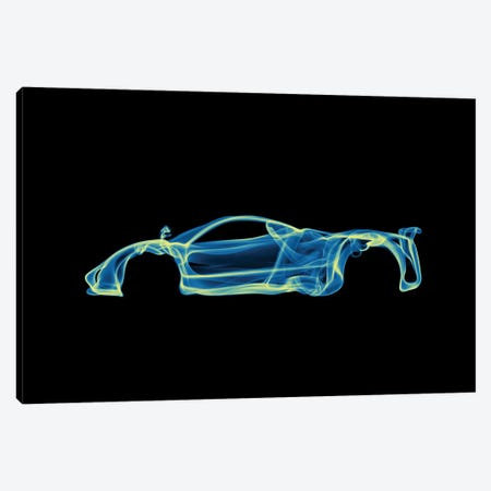 Pagani Zonda Canvas Print #OMU53} by Octavian Mielu Canvas Art Print