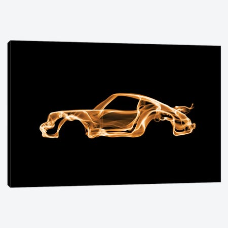 Porsche 911 Turbo Canvas Print #OMU54} by Octavian Mielu Canvas Artwork