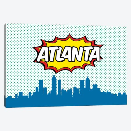 Atlanta Canvas Print #OMU59} by Octavian Mielu Canvas Art Print
