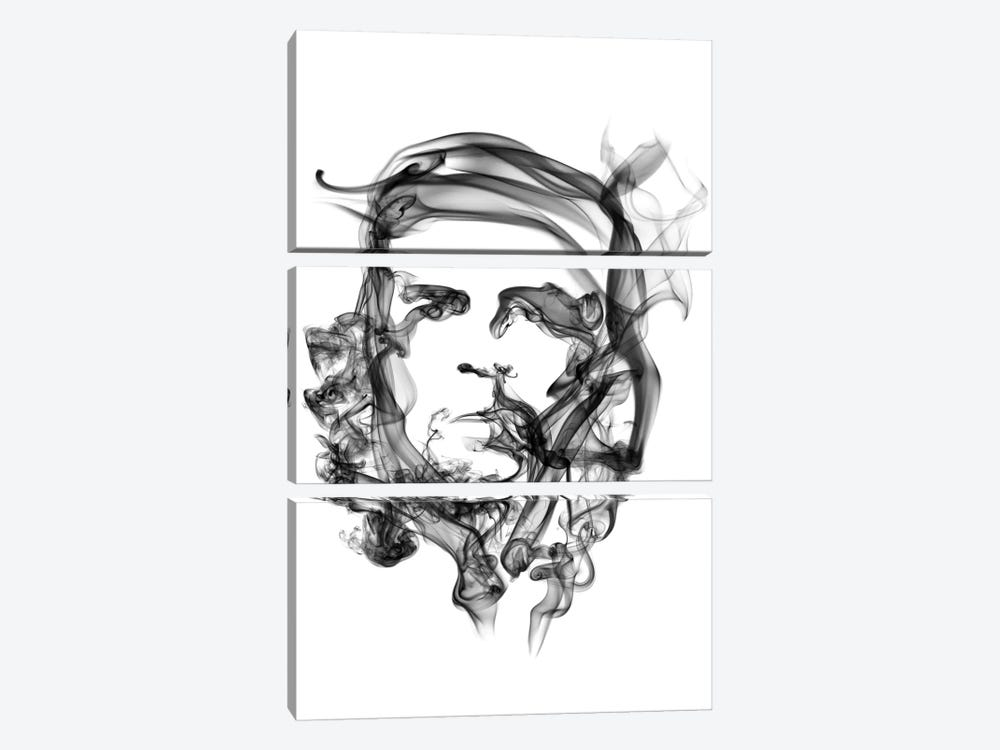 Che Guevara by Octavian Mielu 3-piece Canvas Art Print
