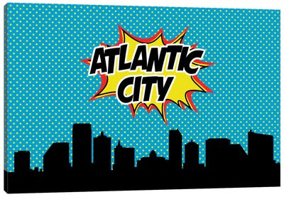 Atlantic City Canvas Art Print