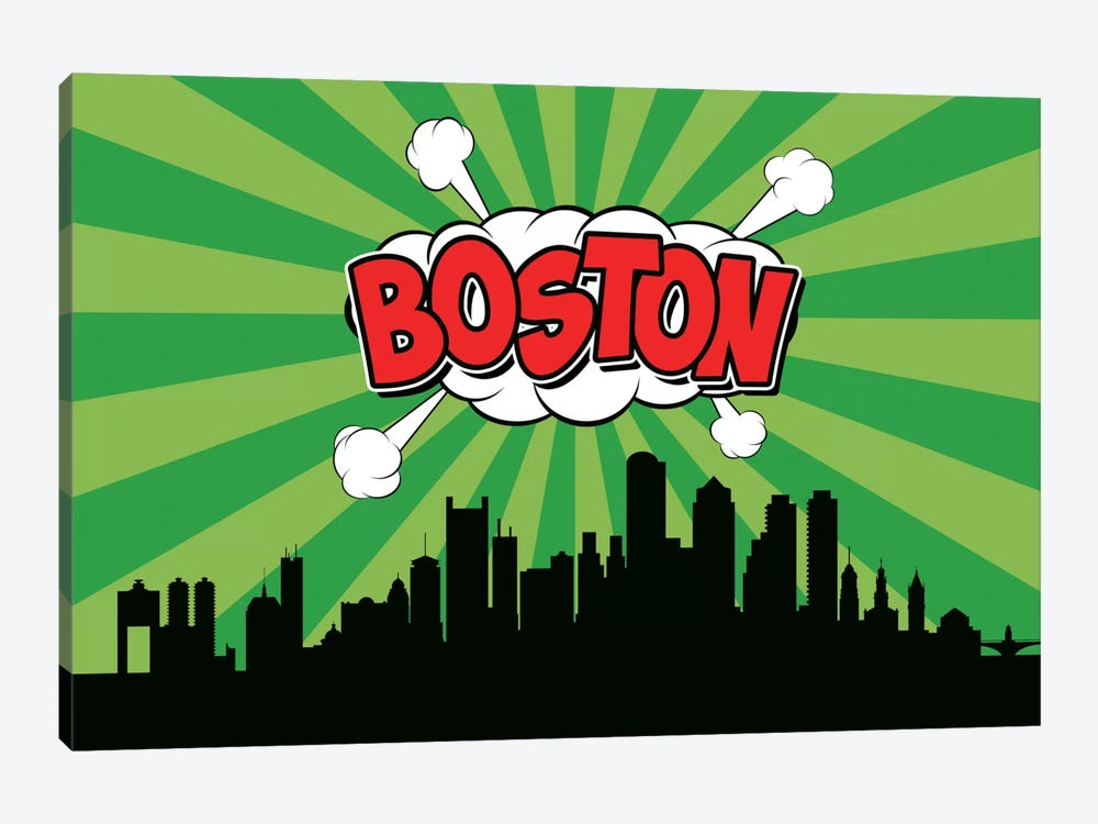 Boston by Octavian Mielu 1-piece Art Print