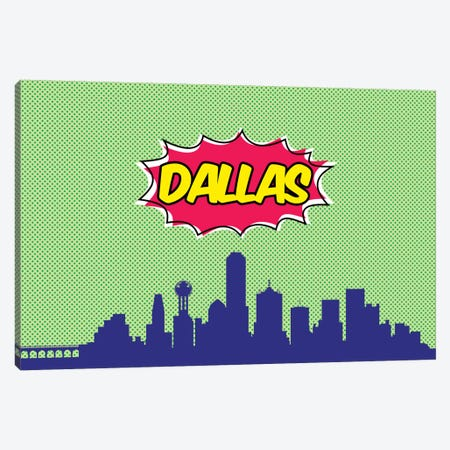 Dallas Canvas Print #OMU65} by Octavian Mielu Canvas Print