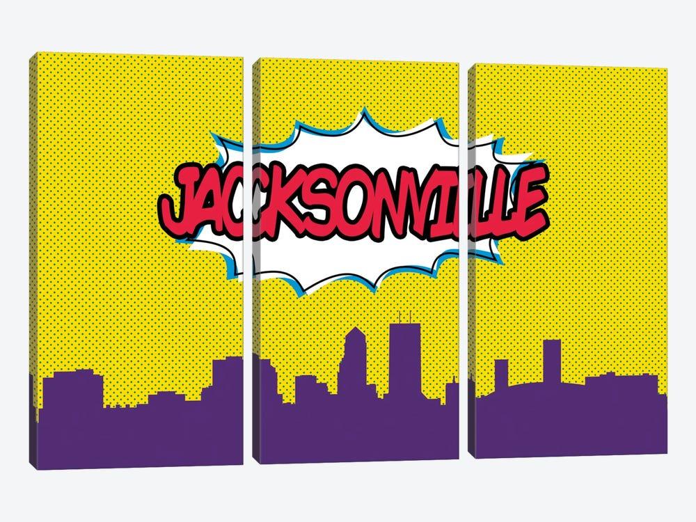Jacksonville by Octavian Mielu 3-piece Art Print