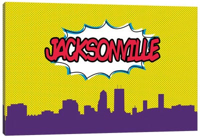 Jacksonville Canvas Art Print