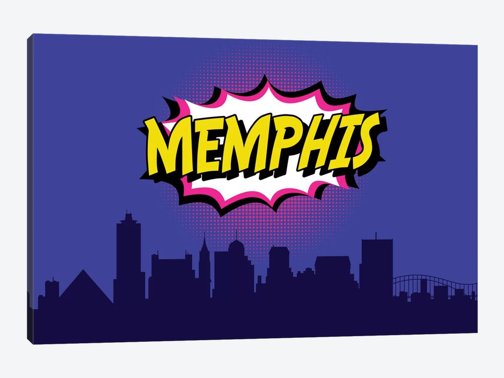 Memphis by Octavian Mielu 1-piece Canvas Art