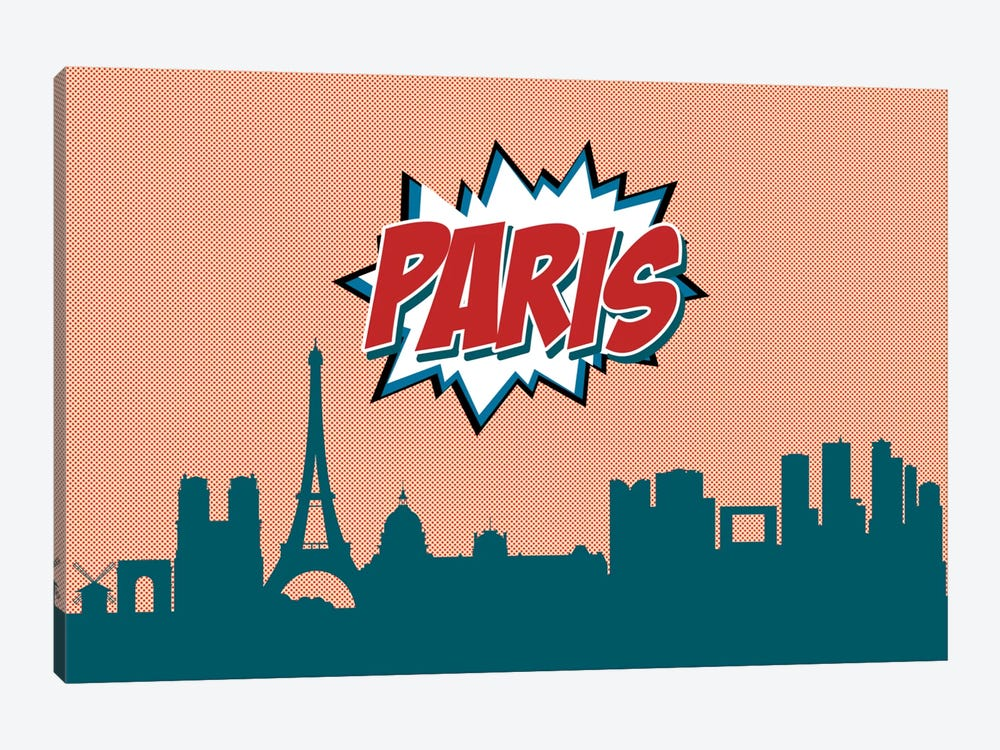 Paris by Octavian Mielu 1-piece Canvas Wall Art