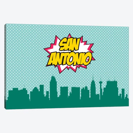 San Antonio Canvas Print #OMU88} by Octavian Mielu Canvas Art
