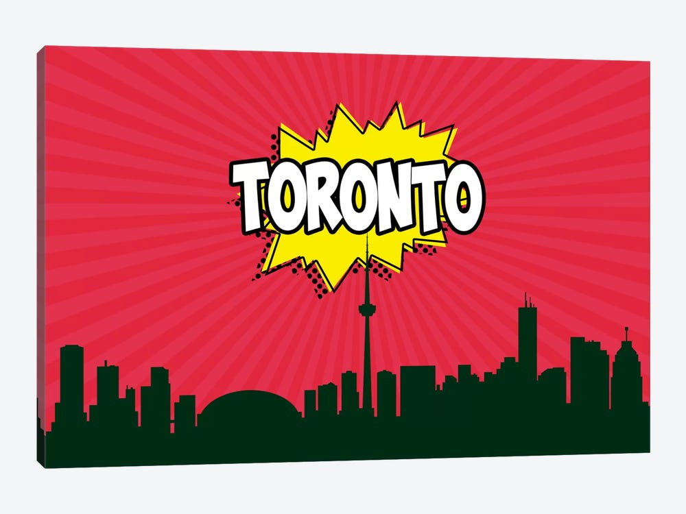 Toronto by Octavian Mielu 1-piece Canvas Artwork