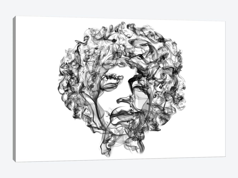 Jimi Hendrix 1-piece Canvas Print