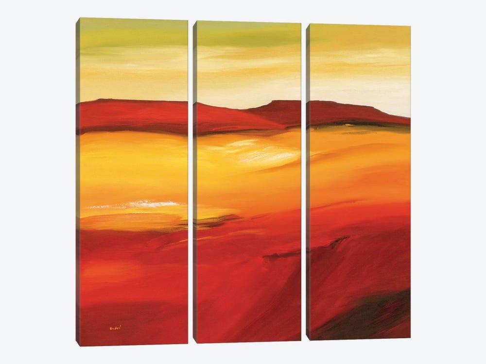 Australian Landscape I by André Schrooten 3-piece Canvas Art Print