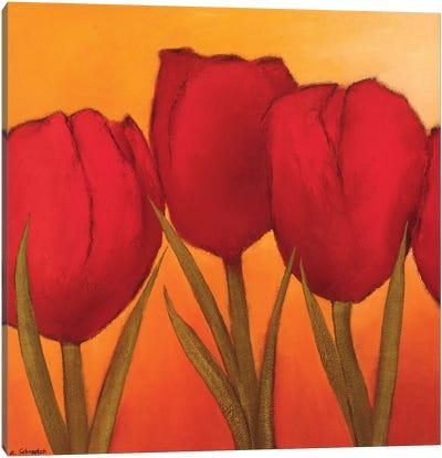 Be In Full Bloom I Canvas Art Print