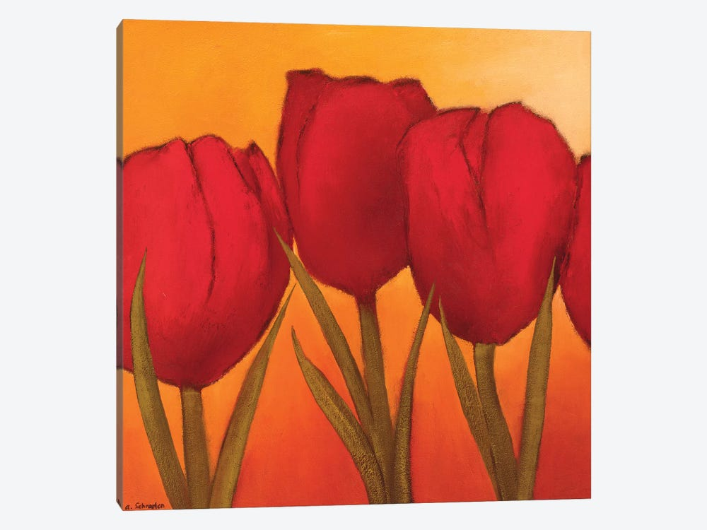Be In Full Bloom I by André Schrooten 1-piece Canvas Print