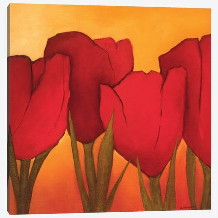 Be In Full Bloom II Canvas Print #OOT4} by André Schrooten Canvas Artwork