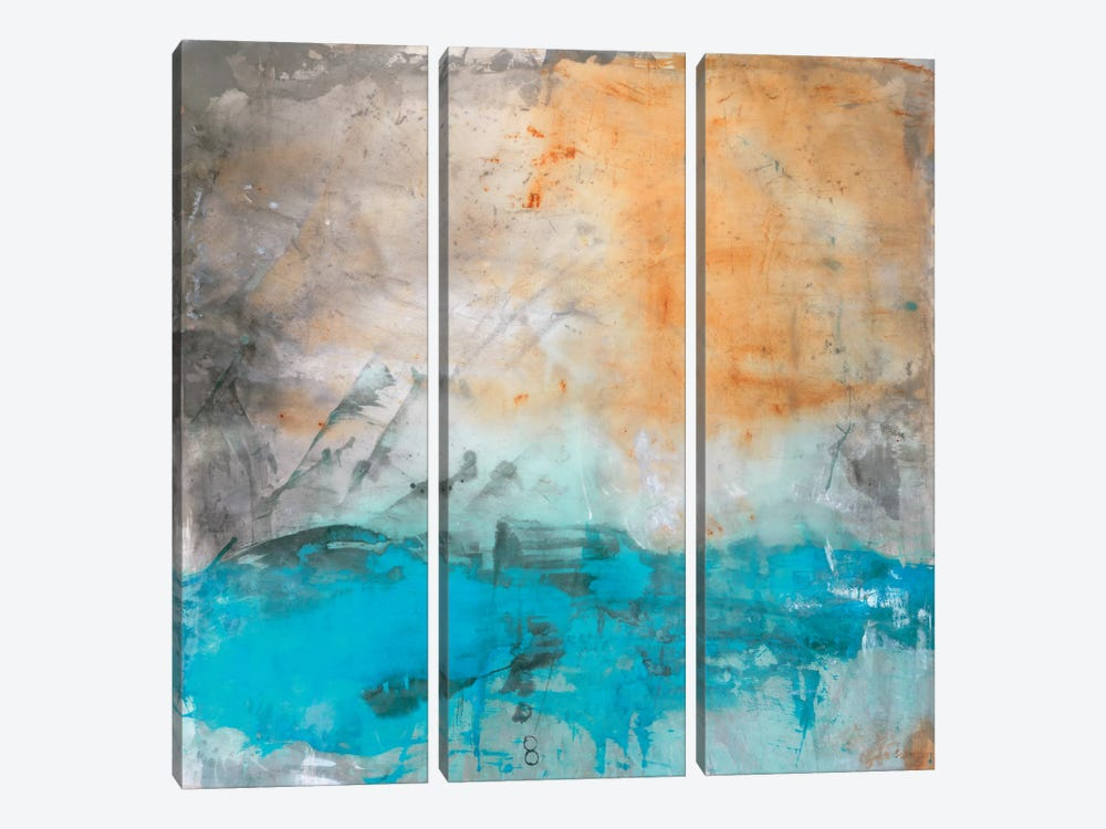 Cascade by Michelle Oppenheimer 3-piece Canvas Artwork