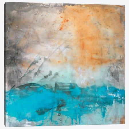Cascade Canvas Print #OPP12} by Michelle Oppenheimer Canvas Art