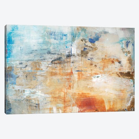 Cloud Burst Canvas Print #OPP13} by Michelle Oppenheimer Canvas Wall Art