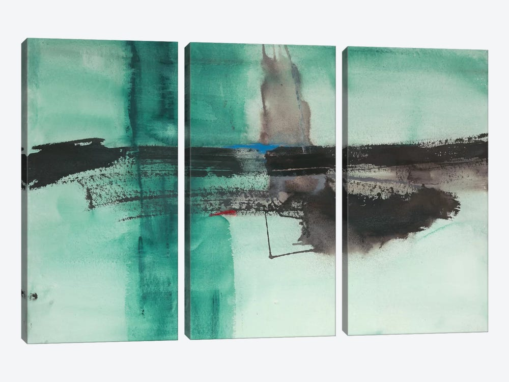 Detached I by Michelle Oppenheimer 3-piece Canvas Print